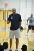 Jay Bilas Teaching as Lane Odom looks on